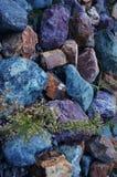 Piedras multicoloras Foto de archivo libre de regalías