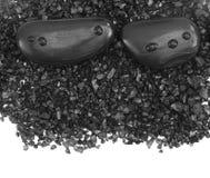 Piedras oscuras Imagen de archivo libre de regalías