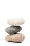 Piedras para una relajación Fotografía de archivo