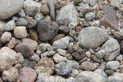 Piedras pequeñas y grandes Fotografía de archivo libre de regalías