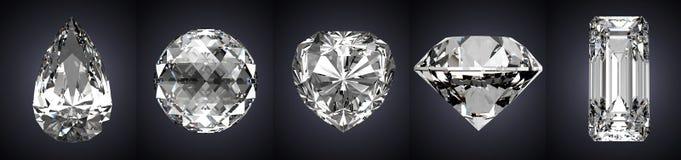 Piedras preciosas ilustración del vector
