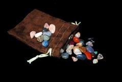 Piedras preciosas semi Fotos de archivo