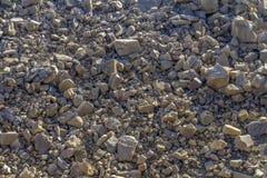 Piedras quebradas fotografía de archivo libre de regalías