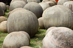 Piedras redondas Foto de archivo libre de regalías