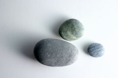 Piedras redondas Imagen de archivo libre de regalías