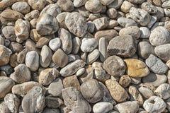 Piedras redondas Fotografía de archivo libre de regalías