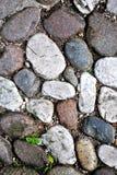 Piedras redondas del río Imagenes de archivo