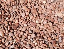 Piedras redondeadas Foto de archivo libre de regalías