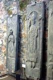 Piedras religiosas del ataúd Foto de archivo