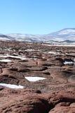 Piedras Rojas Arkivfoto