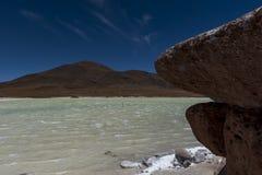 Piedras Rojas, Atacama, chile Fotografering för Bildbyråer