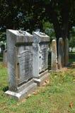 Piedras sepulcrales 5 Foto de archivo libre de regalías