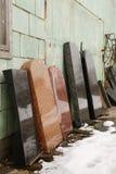 Piedras sepulcrales graves Foto de archivo libre de regalías