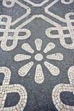 Piedras tradicionales del adoquín en Lisboa Portugal Fotografía de archivo libre de regalías