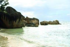 Piedras tropicales foto de archivo