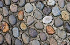 Piedras viejas del guijarro Imagen de archivo libre de regalías
