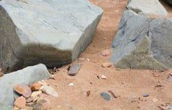 Piedras viejas serenas Imagenes de archivo
