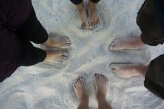 pieds Photographie stock libre de droits