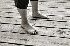 pieds Photo libre de droits