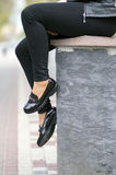 Pieds, chaussures Image stock