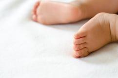 Pieds de bébé Image libre de droits