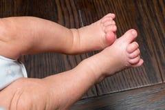 Pieds de bébé Photographie stock libre de droits