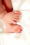 pieds de chéri Image libre de droits