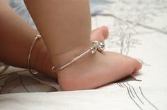 pieds de chéri Images stock