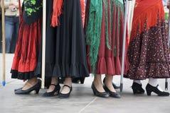 Pieds de danse Photographie stock libre de droits