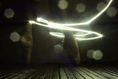 pieds de danseurs photographie stock