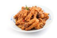 Pieds de poulet cuits par Chinois Photographie stock