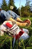 Pieds de repos photos libres de droits