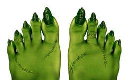 Pieds de zombi illustration libre de droits