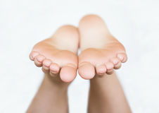 Pieds nus Photo stock
