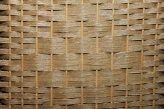 Piegatura di bambù dell'albero del rattan di tessitura Immagine Stock Libera da Diritti