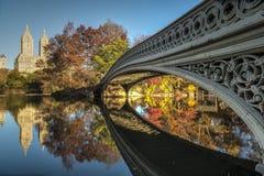 Pieghi il ponte Immagini Stock