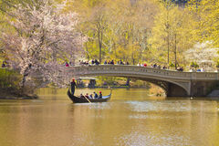 Pieghi il ponte Fotografia Stock Libera da Diritti