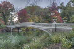 Pieghi il ponte Immagine Stock
