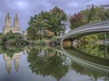Pieghi il ponte Fotografie Stock Libere da Diritti