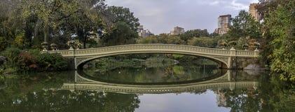 Pieghi il ponte Fotografia Stock