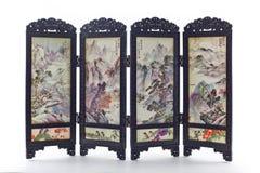Pieghi la progettazione della porcellana della porta Fotografia Stock Libera da Diritti