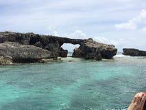 Piekło bramy wyspa Fotografia Royalty Free