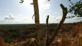 Piekło kuchenny jar w marafa w Kenya zbiory wideo