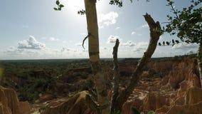 Piekło kuchenny jar w marafa w Kenya zbiory