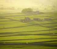 Piek het districts nationaal park van Engeland Derbyshire Stock Foto