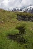 Piek met vulklei boven Kaprun Royalty-vrije Stock Afbeelding