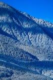 Piek, mooie natuurlijke de winterachtergrond van de bergsneeuw Ijs hoogste o Royalty-vrije Stock Afbeelding