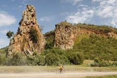 Piekło brama NP w Kenja, Afryka Zdjęcia Royalty Free