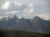 piek Oostelijke bergen Sayan De Republiek Buryatia Stock Fotografie