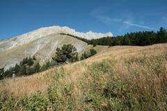 Piek van Bure in Alpen, Frankrijk royalty-vrije stock afbeelding